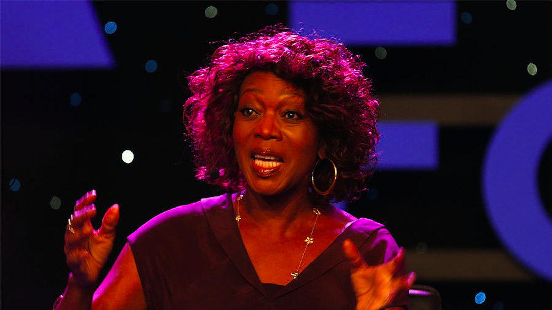 "Actress Alfre Woodard, speaking at the 2015 NAMM show in Anaheim at a panel on the Turnaround Arts program for underperforming schools, said, ""Art and music and theater help you learn what it is to be human."" (Allen J. Schaben / Los Angeles Times)"